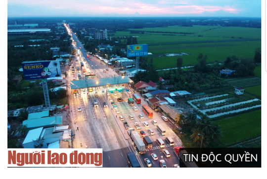 UBND tỉnh Tiền Giang đề xuất 2 phương án hoàn vốn BOT Cai Lậy - Ảnh 1.