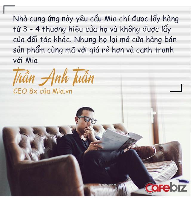Chân dung CEO 8x của Mia.vn: Thời sinh viên đã kiếm trăm triệu/tháng từ bán balo, từng gặp khó khi nhà cung ứng chủ chốt rút toàn bộ hàng hóa và yêu cầu trả công nợ ngày giáp Tết - Ảnh 6.