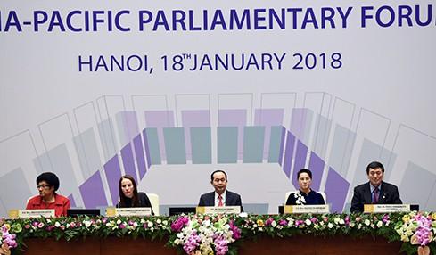 Chủ tịch nước Trần Đại Quang: APPF tích cực đóng góp xây dựng tầm nhìn mới của châu Á - Thái Bình Dương, - Ảnh 1.