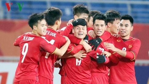 Tinh thần quả cảm của đội tuyển U23 Việt Nam trong trận đấu lịch sử - Ảnh 2.