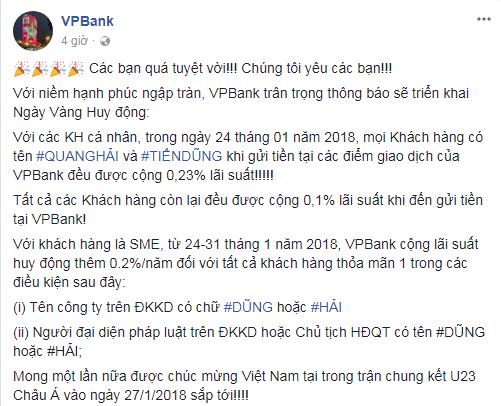 Việt Nam giành vé vào chung kết vô địch U23 châu Á, CEO Vietjet đi mua sơn để vẽ lại máy bay, tỷ phú FLC tặng tiền tỷ - Ảnh 6.