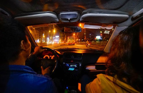 Cơ quan thuế xác định các tài xế là các cơ sở thường trú của Uber B.V Hà Lan tại Việt Nam nên Uber B.V phải có nghĩa vụ nộp thuế Ảnh: Hoàng Triều