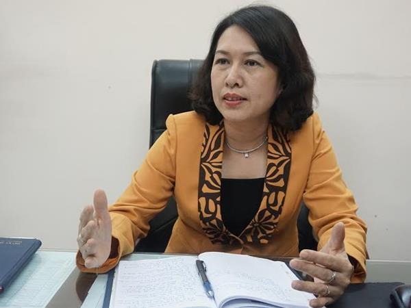 Bà Trần Thị Hồng Minh, Cục trưởng Cục Quản lý đăng ký kinh doanh.