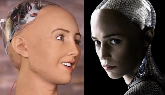 Sophia cho rằng con người và trí tuệ nhân tạo có thể sống hòa thuận với nhau. Ảnh minh họa