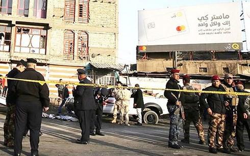Đánh bom kép tại Iraq khiến 27 người chết - Ảnh 1.