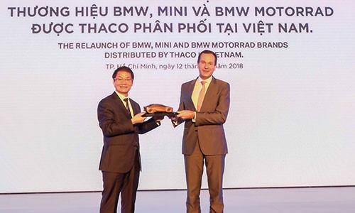 """Ông Trần Bá Dương: """"Làm"""" BMW là thử thách lớn nhất của Thaco và cá nhân tôi - Ảnh 1."""