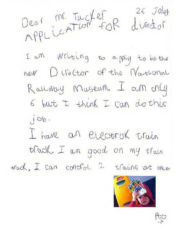 Không biết viết CV? Lá thư xin việc của bé 6 tuổi có thể khiến người lớn ngỡ ngàng đấy! - Ảnh 2.