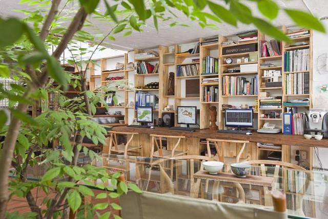 Với lối thiết kế thông minh tận dụng tối đa ánh sáng mặt trời nên ngôi nhà tiết kiệm tối đa điện năng tiêu thụ.