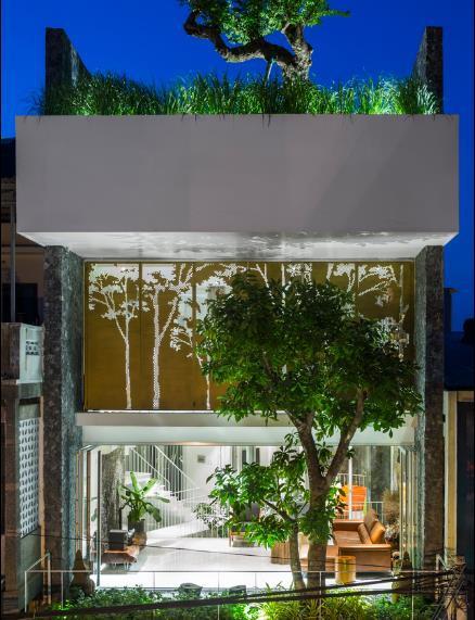 Nhà phố ở Nha Trang gây sốt với thiết kế xanh mướt nhờ những miệt vườn nhỏ - Ảnh 11.