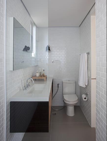 Nhà vệ sinh thoáng sáng và vô cùng tiện nghi.