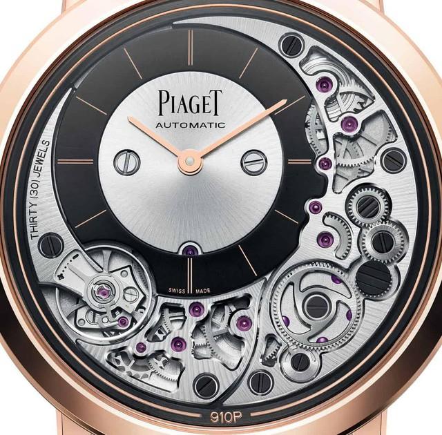 Piaget tiết lộ chiếc đồng hồ tự động mỏng nhất thế giới, thậm chí dày chưa tới 0.5cm - Ảnh 2.