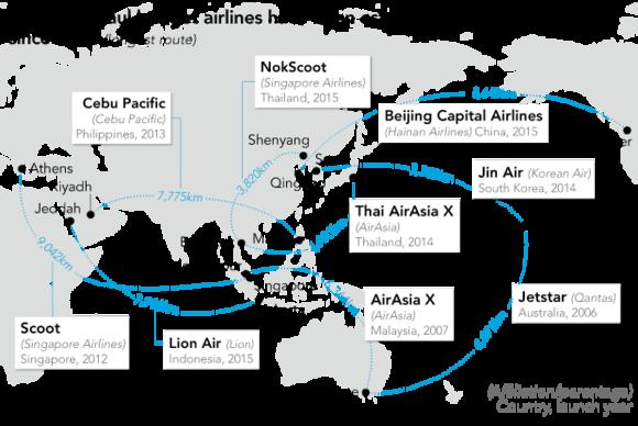 Cuộc chiến hàng không châu Á: Hái tiền trên trời không phải dễ! - Ảnh 3.