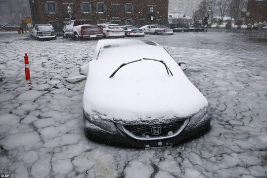 Boston đang gánh chịu cùng lúc lũ lụt và băng tuyết lạnh kỷ lục.