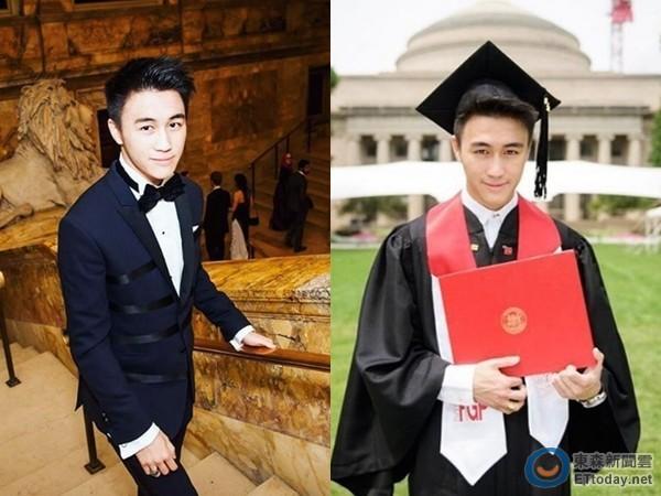 Tuy giàu có nhưng Mario Ho vẫn chăm chỉ học tập và có thành tích xuất sắc.