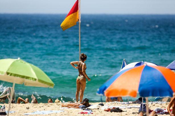 Thời tiết nắng nóng tại Úc.