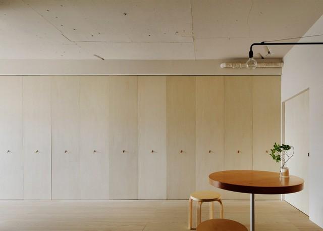 Thiết kế này giúp không gian trở nên rộng hơn và không bị rối mắt.
