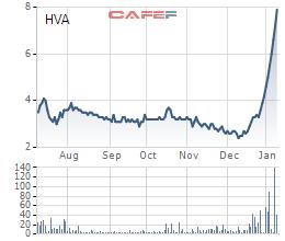 HVA lên tiếng giải trình việc cổ phiếu tăng trần 10 phiên liên tiếp - Ảnh 1.