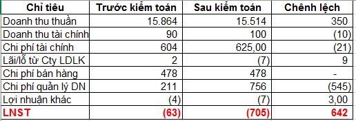 Thủy sản Hùng Vương (HVG) lỗ thêm 642 tỷ đồng sau kiểm toán năm tài chính 2016-2017; Nợ ngắn hạn vượt quá tài sản ngắn hạn - Ảnh 4.