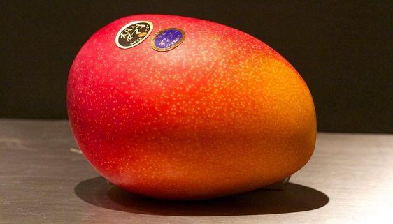 Giờ đến trái cây cũng làm hàng hiệu, một quả xoài có giá hơn 6 triệu và có một nơi bán toàn hàng hiệu như vậy - Ảnh 1.