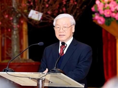 Tổng Bí thư, Chủ tịch nước: Phòng, chống tham nhũng không chỉ là một cao trào - Ảnh 1.