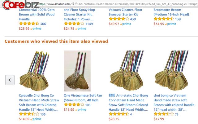Cao sao vàng lên Amazon có giá 7 USD, phin pha cà phê giá 10 USD, chổi đót gần 20 USD: Bán hàng trên Amazon thực sự dễ đến vậy sao? - Ảnh 1.