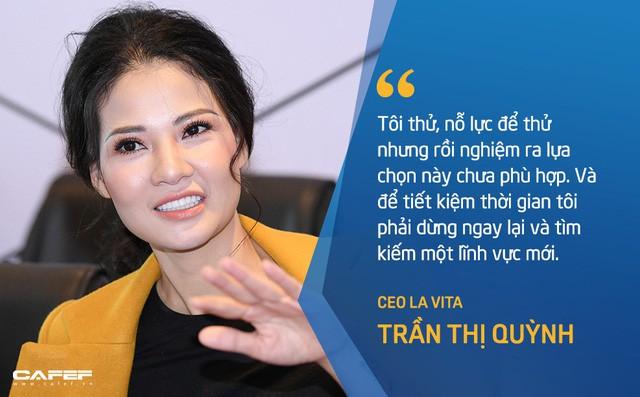 CEO Lavita Trần Thị Quỳnh: Giai đoạn đầu khởi nghiệp đầy chông gai và cô đơn, cũng như cá học leo cây vậy nhưng tôi quan niệm rất ít bí quyết chung để thành công ngoài sự kiên trì - Ảnh 1.