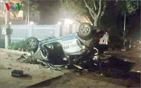 Lái xe uống rượu bia gây tai nạn khiến 3 người chết, 4 người bị thương - Ảnh 1.