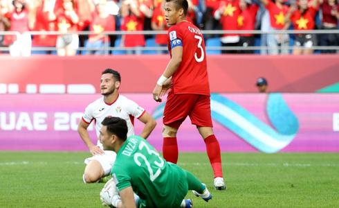 Tinh thần thi đấu tuyệt vời của ĐT Việt Nam khiến dân mạng phấn khích: Như xem World Cup - Ảnh 1.