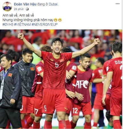 Cầu thủ Việt Nam tự hào: Kỳ tích sẽ xảy ra khi chúng ta đủ niềm tin - Ảnh 3.