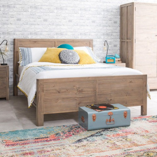 Giường ngủ đơn giản tiết kiệm diện tích - Ảnh 8.