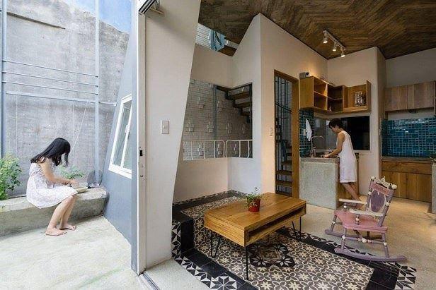 Nhà trong ngõ vỏn vẹn 35m2 vẫn có thiết kế đẹp như mơ - Ảnh 8.