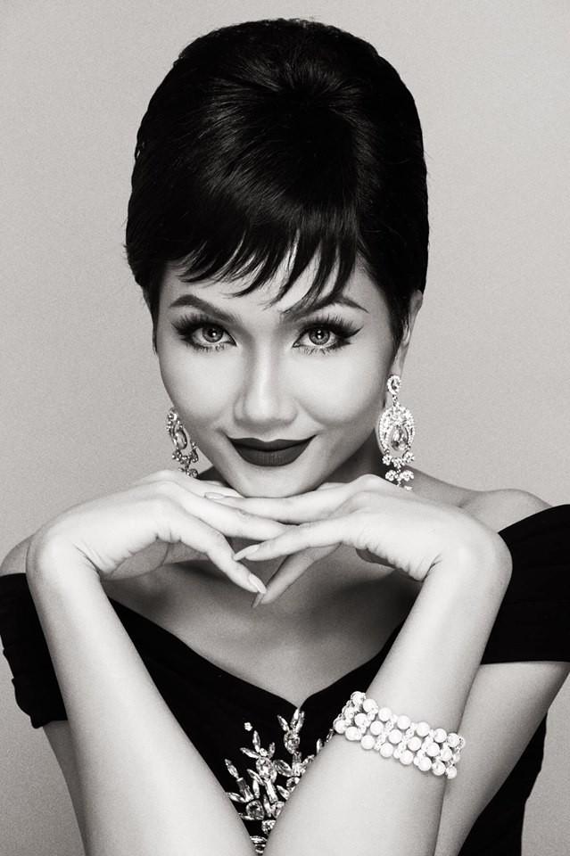 HHen Niê hóa thân thành huyền thoại Audrey Hepburn mừng ngày trở thành Hoa hậu đẹp nhất thế giới - Ảnh 6.