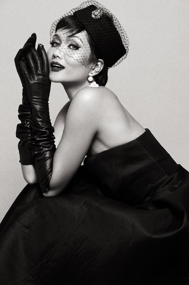 HHen Niê hóa thân thành huyền thoại Audrey Hepburn mừng ngày trở thành Hoa hậu đẹp nhất thế giới - Ảnh 9.