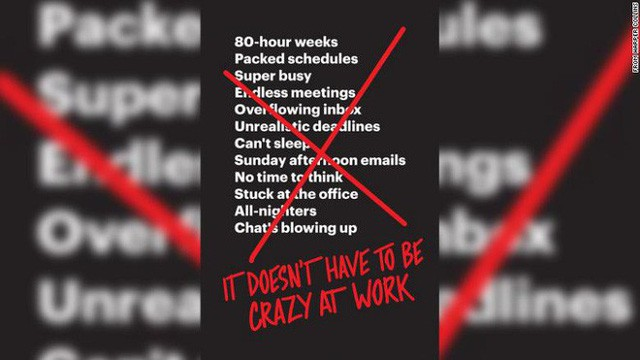 Vị CEO này kịch liệt phản đối thói tham công tiếc việc và khẳng định: Bị điên mới làm việc hơn 40h/tuần - Ảnh 1.