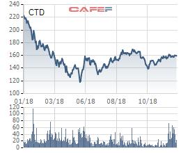 Coteccons (CTD) bắt đầu hồi phục sau tích lũy, các quỹ ngoại đồng loạt tăng sở hữu - Ảnh 1.