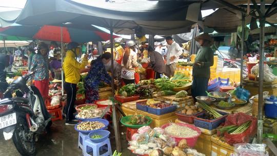 Ảnh hưởng bão số 1, hành lá ở Phú Quốc 150.000 đồng/kg - Ảnh 1.