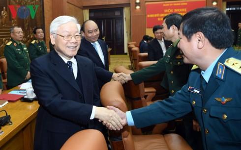 Tổng Bí thư: Cương quyết xử lý tiêu cực là nâng cao uy tín quân đội - Ảnh 2.
