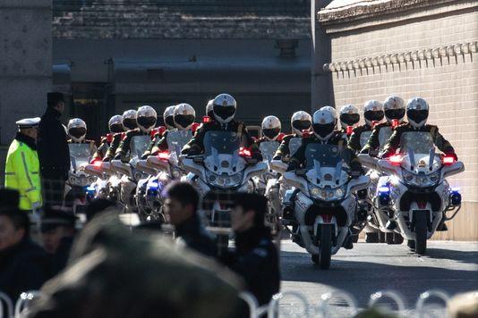 Đoàn tàu bọc thép đưa ông Kim Jong Un tới Bắc Kinh - Ảnh 4.