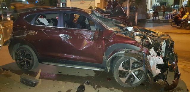 Nam cảnh sát giao thông gây tai nạn liên hoàn ở Sơn La - Ảnh 1.