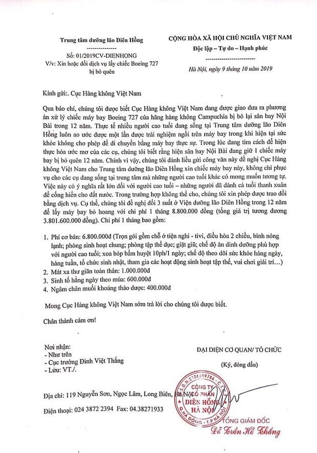 Một trung tâm dưỡng lão ở Hà Nội liều xin Cục Hàng không chiếc máy bay bị bỏ quên 12 năm để hiện thực hoá ước mơ cho các cụ - Ảnh 1.