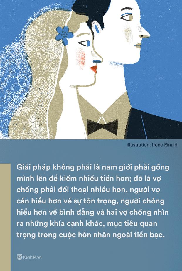 Kiếm ít tiền hơn vợ: Một câu nói mà gợi nỗi buồn của không biết bao nhiêu ông chồng Việt - Ảnh 3.