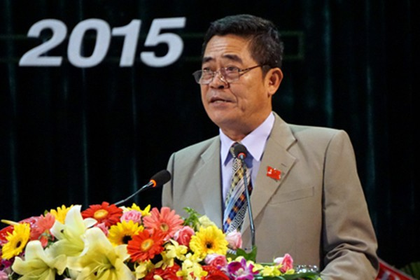 Cho ông Lê Thanh Quang thôi chức Bí thư Khánh Hoà để chữa bệnh - Ảnh 1.