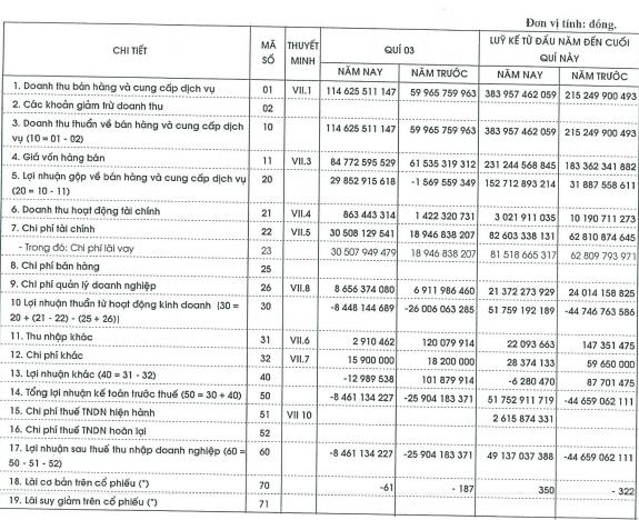 Thủy điện Miền Trung (CHP): Gánh nặng chi phí lãi vay, quý 3 lỗ hơn 8 tỷ đồng - Ảnh 1.