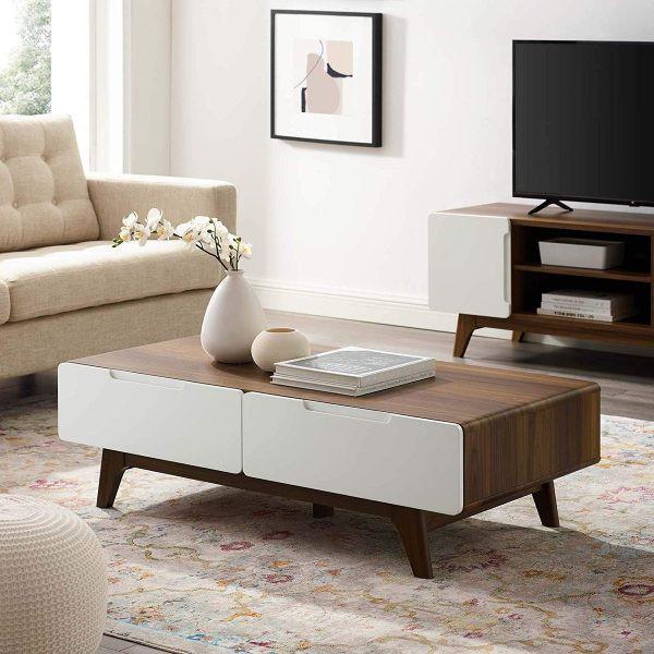 Mẫu bàn phòng khách đẹp và tiện dụng - Ảnh 4.