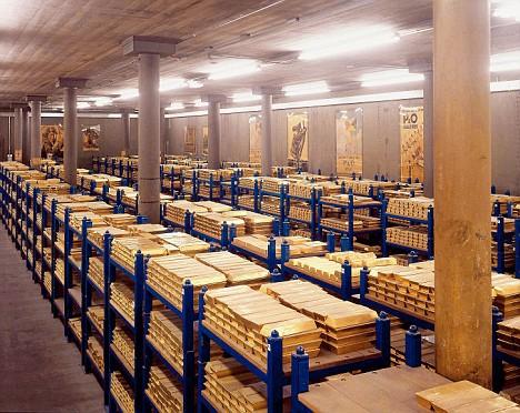 6 kho tiền vàng bất khả xâm phạm trên thế giới - Ảnh 3.