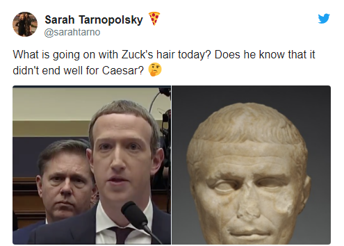 Để kiểu tóc 'bát úp quý tộc' đi điều trần trước Quốc hội Mỹ, Mark Zuckerberg bị một nữ Nghị sỹ 'cà khịa' ngay tại trận và bị 'troll' bất tận trên Twitter - Ảnh 5.