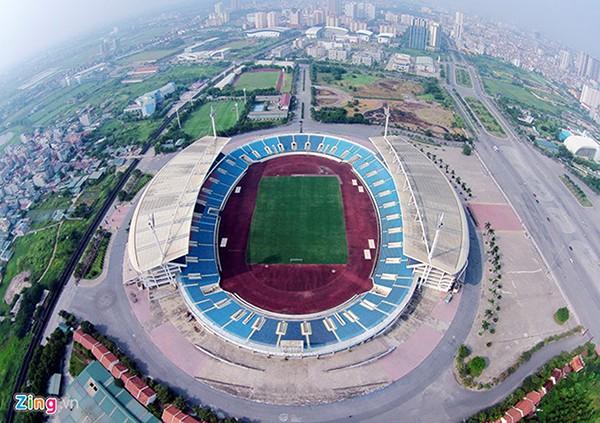 Hà Nội chi tiền tỷ tu bổ sân bãi phục vụ SEA Games 31 tại Việt Nam - Ảnh 1.
