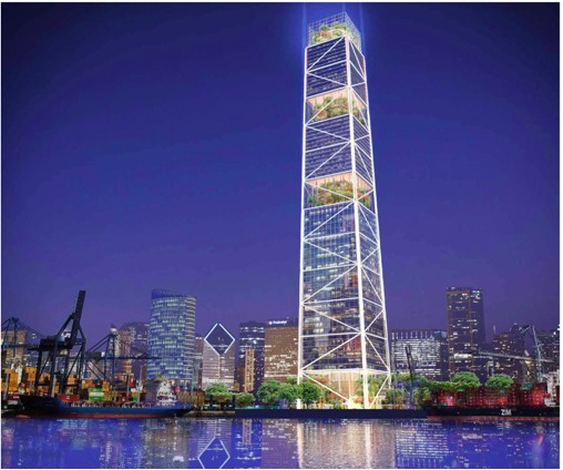 Vượt mặt tòa tháp cao nhất Đông Bắc Bộ của Vingroup, FLC xây siêu dự án tại Hải Phòng - Ảnh 1.