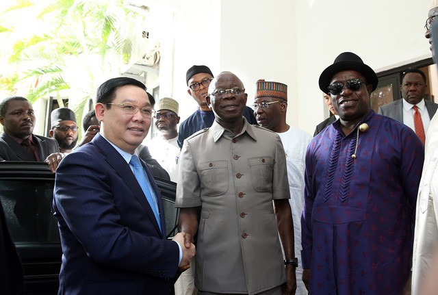 Phó Thủ tướng Vương Đình Huệ: Việt Nam mong muốn giao lưu văn hoá, thể thao với Nigeria  - Ảnh 1.