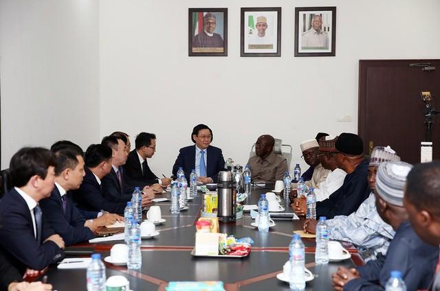 Phó Thủ tướng Vương Đình Huệ: Việt Nam mong muốn giao lưu văn hoá, thể thao với Nigeria  - Ảnh 2.